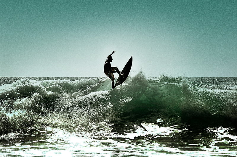 kick flip by andriazmo1 Surfs Up: 30 Incredible Surf Photographs