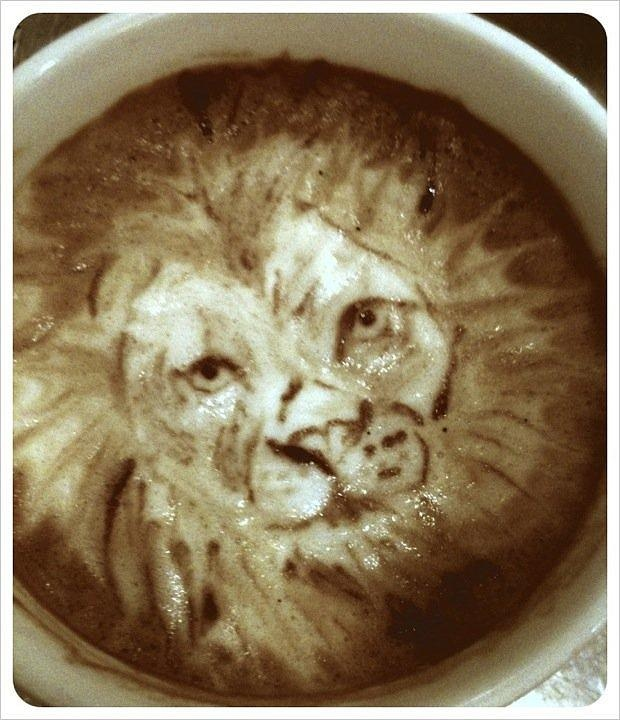 latte art 7 Art in My Coffee: 60 Delicious Examples of Latte Art