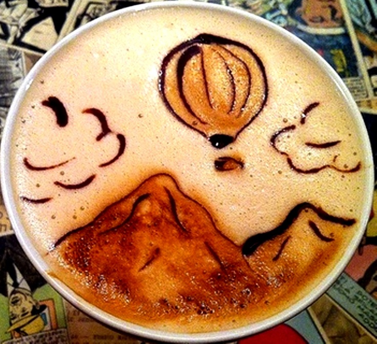 latte art 9 Art in My Coffee: 60 Delicious Examples of Latte Art