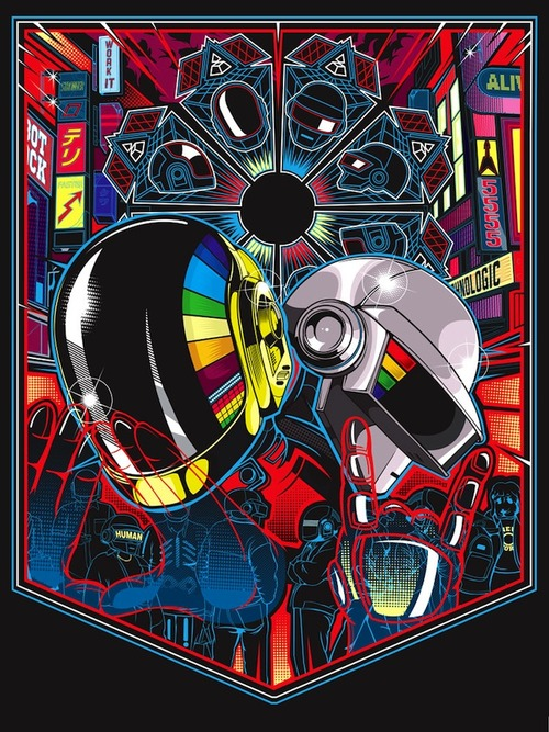 legacy1 A Tribute: 40 Awesome Daft Punk Artworks