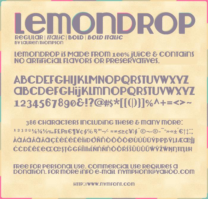 Lemondrop by Nymphont