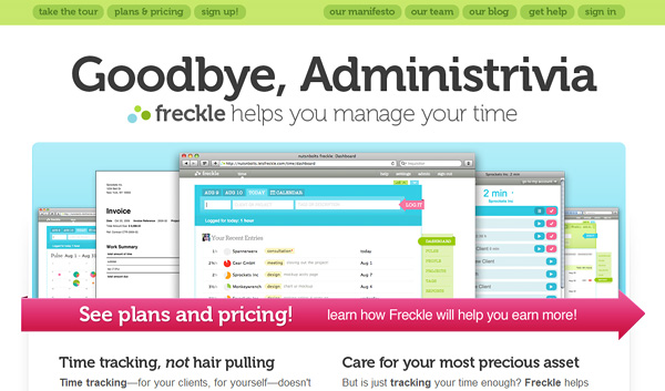 letsfreckle 18 Effective Time Management Tools