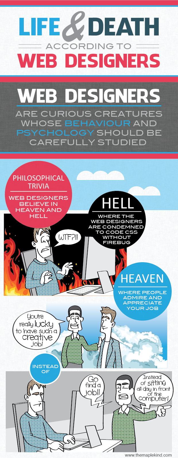 life and death web designers 01 Life and Death According to Web Designers [Infographic]