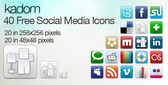 minifolio icons preview1 Top 40 Must Have Social Media Icon Sets from 2013