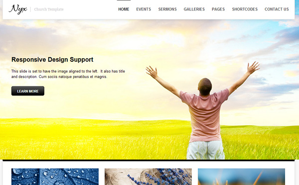 nyx 20 Excellent Wordpress Themes for Churches