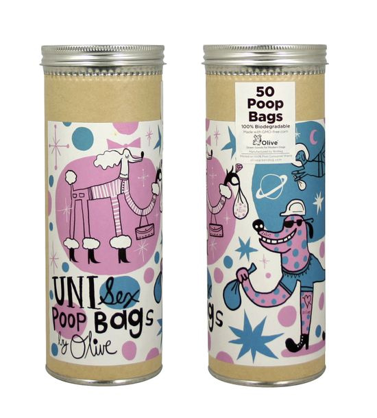 olive poop bags 25 Praiseworthy Pet Packaging Designs