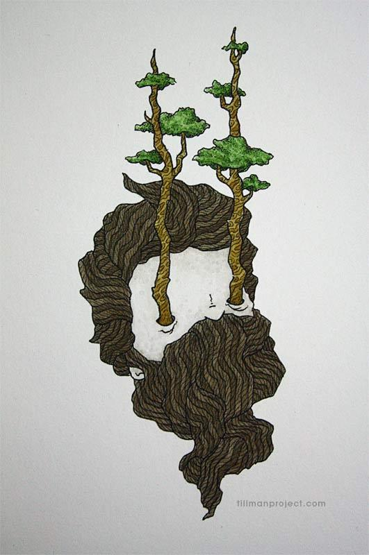 Pen and Watercolor Illustrations by Clint Reid (10)