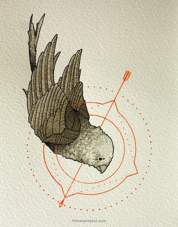 Pen and Watercolor Illustrations by Clint Reid (11)