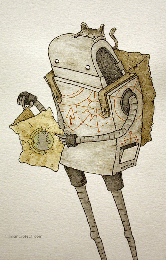 Pen and Watercolor Illustrations by Clint Reid (15)