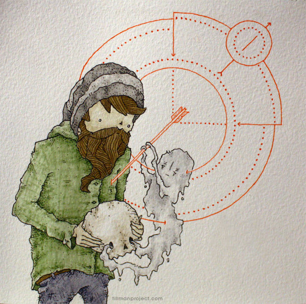 Pen and Watercolor Illustrations by Clint Reid (19)