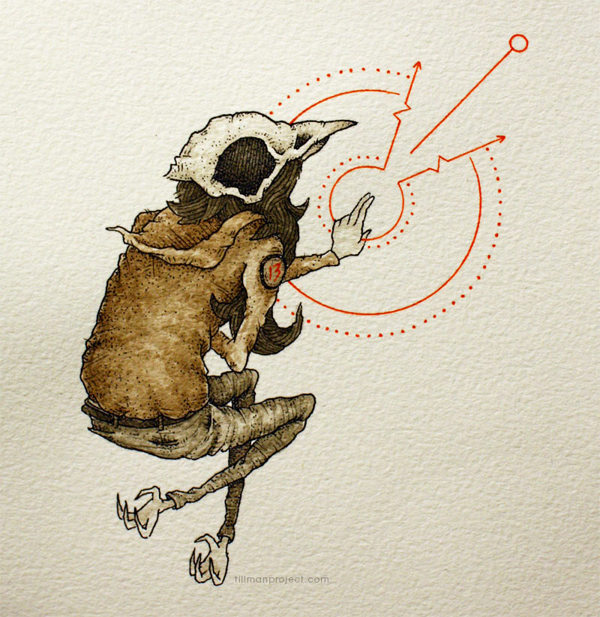 Pen and Watercolor Illustrations by Clint Reid (24)