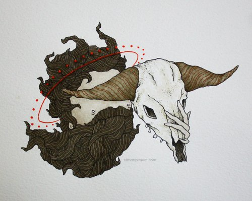 Pen and Watercolor Illustrations by Clint Reid (26)