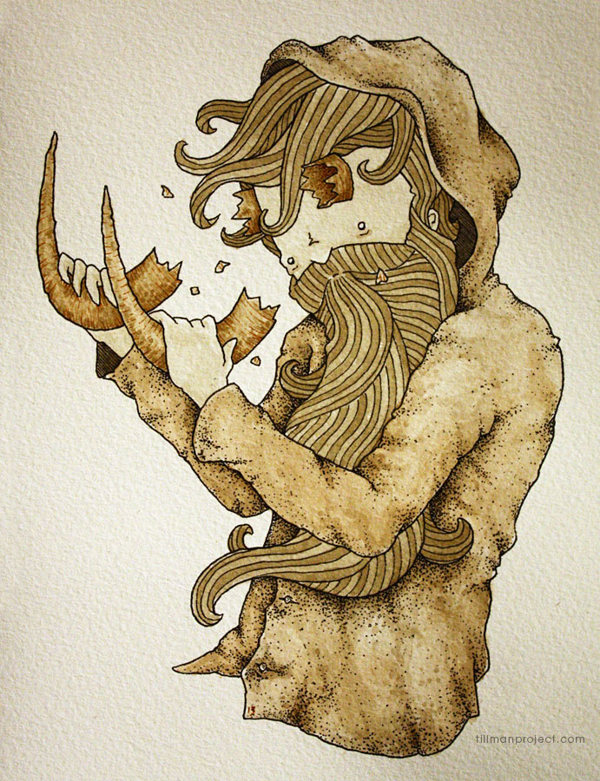 Pen and Watercolor Illustrations by Clint Reid (3)