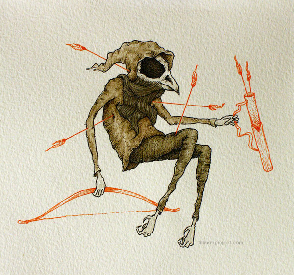 Pen and Watercolor Illustrations by Clint Reid (9)