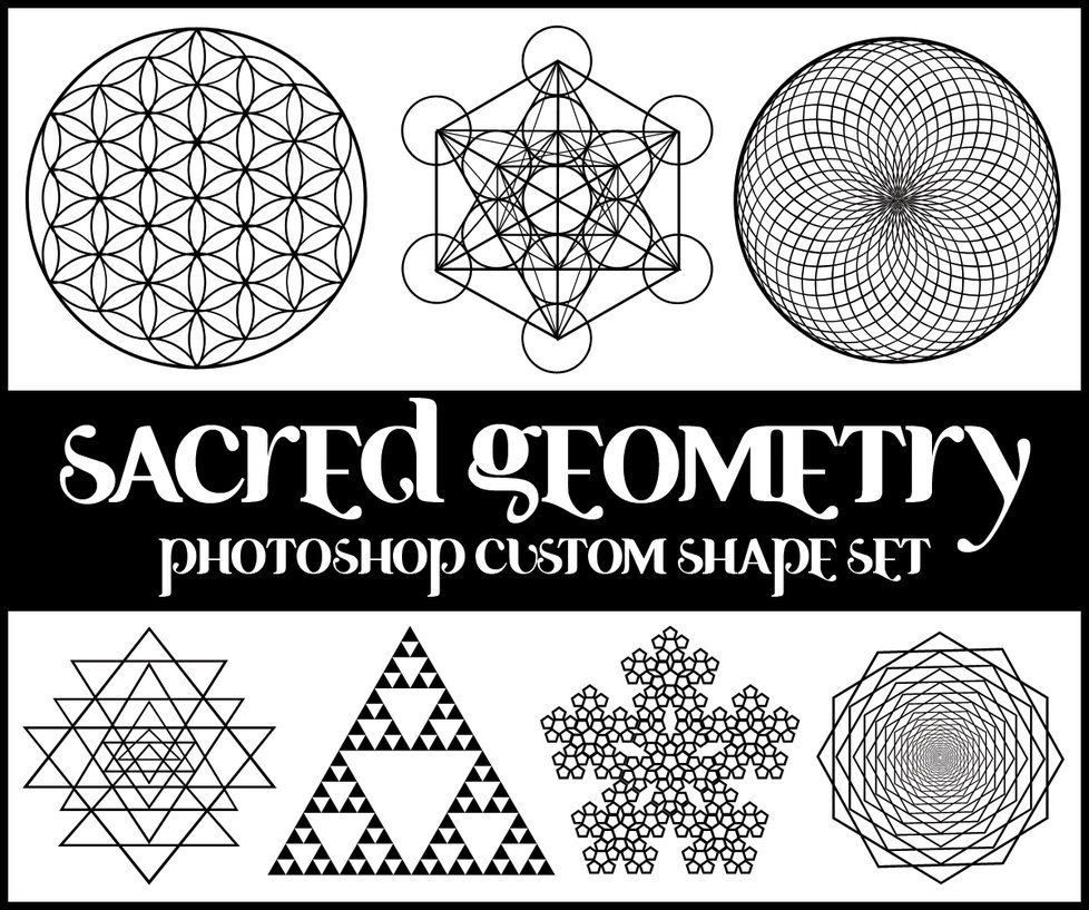sacred geometry custom shapes by merrypranxter1 2500+ Free Custom Photoshop Shapes