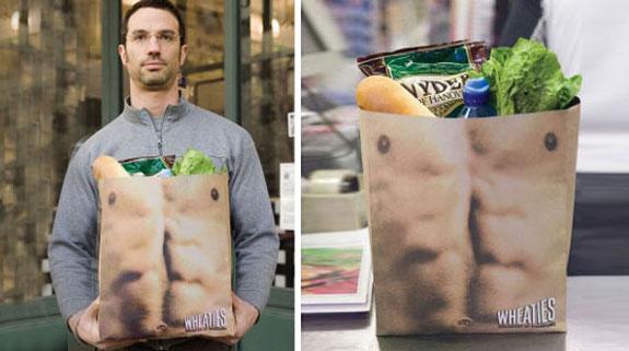 Wheaties Shopping Bag
