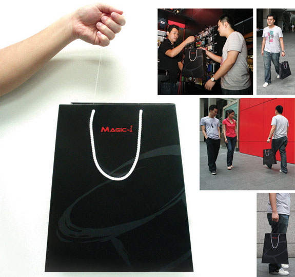shopping bag ads magicbag1 25 Creative Shopping Bag Advertisements