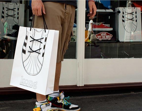 Kong: Shoe Bag