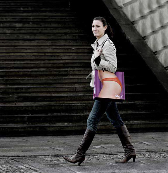 shopping bag ads xray1 25 Creative Shopping Bag Advertisements