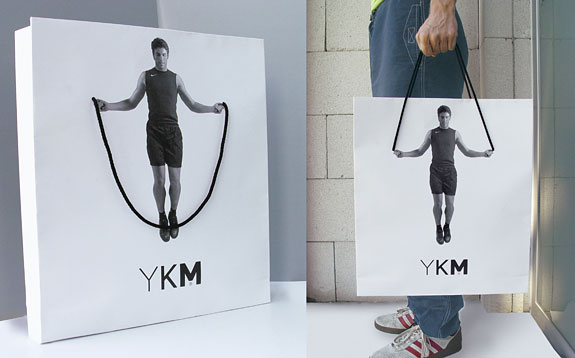 shopping bag ads ykm canta1 25 Creative Shopping Bag Advertisements