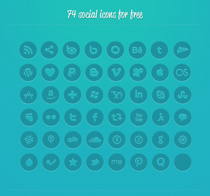 socialico021 Top 40 Must Have Social Media Icon Sets from 2013