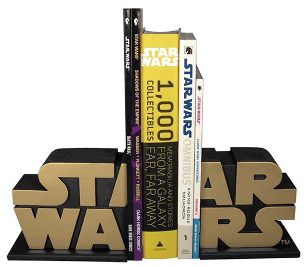 star wars 31 Amusing Bookend Designs