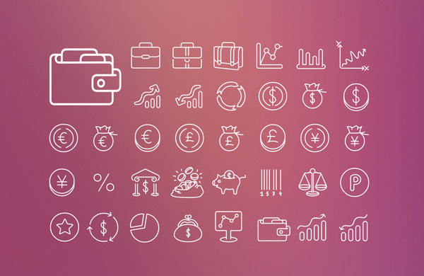 Swanky-Outlines-Icon-Set