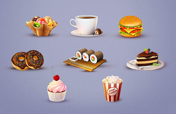 Tasty-Bites-Icon-Set