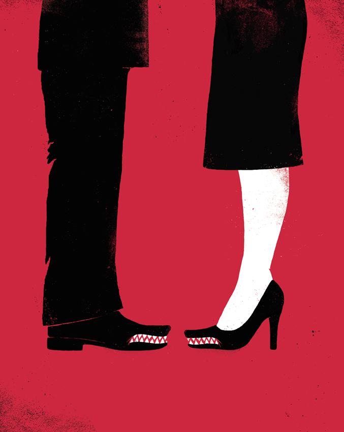 The pursuit of power between men and women