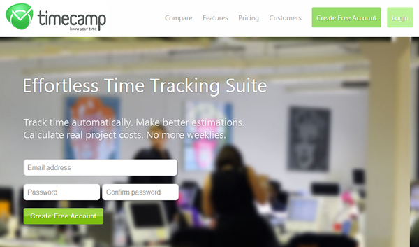timecamp 18 Effective Time Management Tools