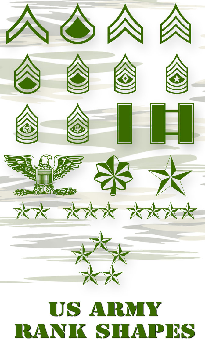 us army ps vector shapes by retoucher070301 2500+ Free Custom Photoshop Shapes