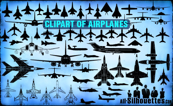 vector airplane clipart1 2500+ Free Custom Photoshop Shapes