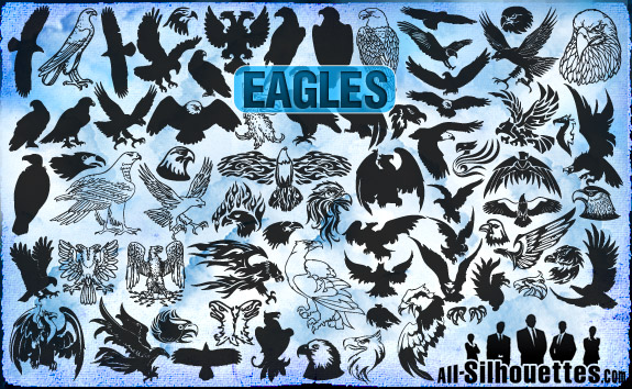 vector eagles clipart1 2500+ Free Custom Photoshop Shapes
