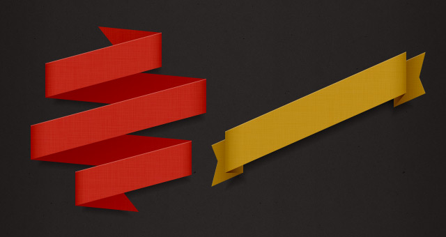 Psd Ribbon Pack Styles