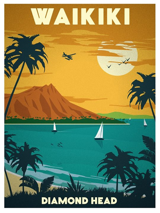 Waikiki by Alex Asfour