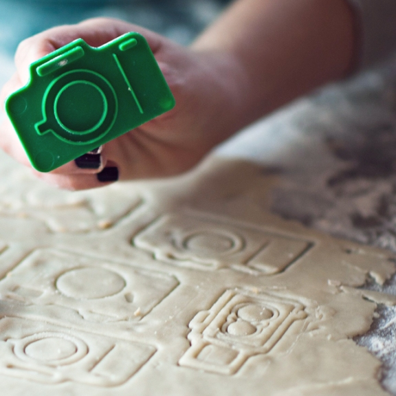 DIY Photography Camera Cookie Cutters