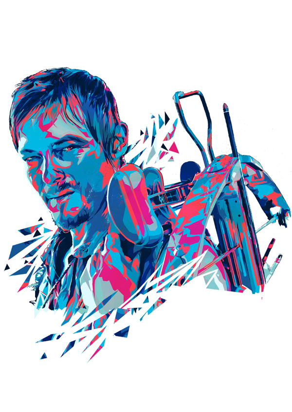 Daryl Dixon by Mink Couteaux