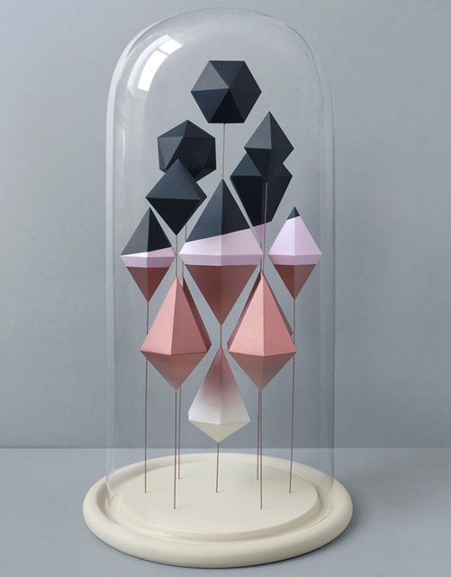 Geometric Paper Sculpture