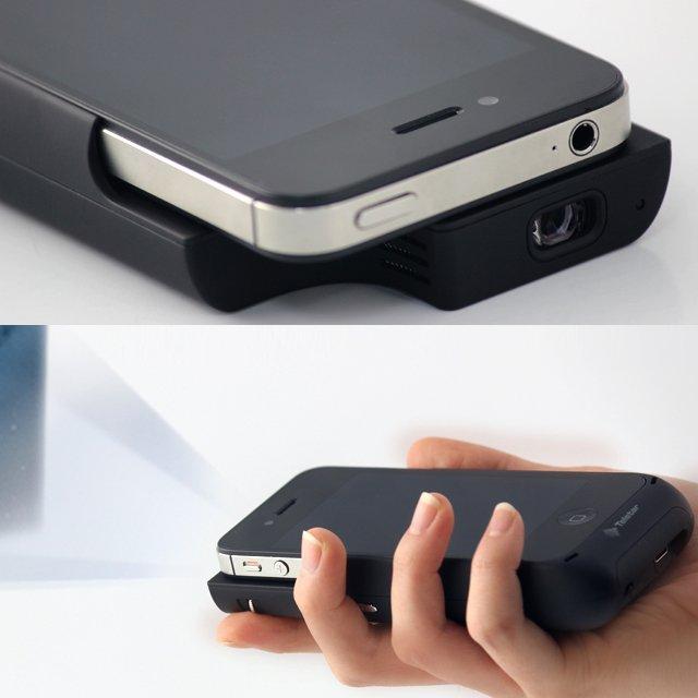 Hand-Held iPhone Projector