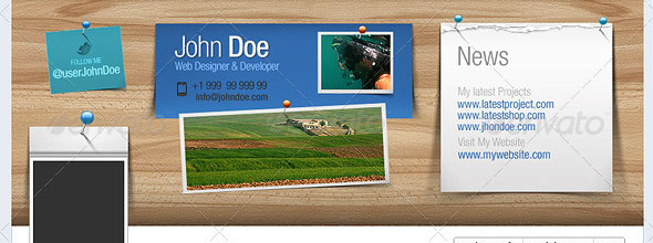 2331 Top 40 Premium Facebook Timeline Cover Photo Templates