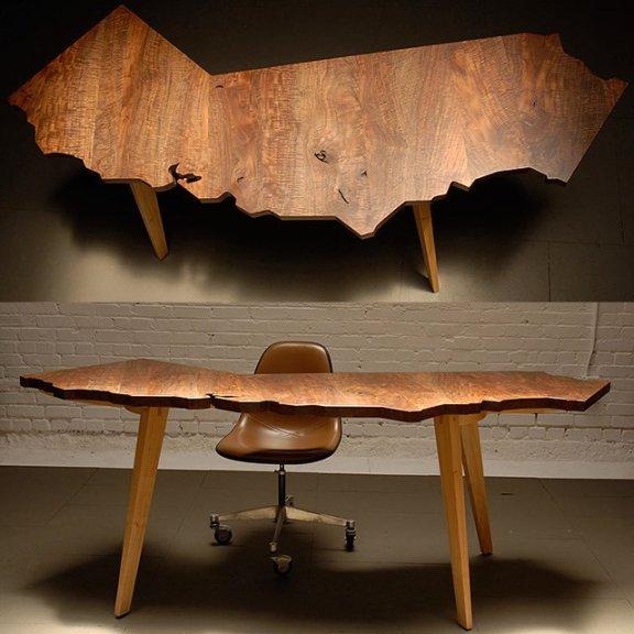 California Desk by J.Rusten