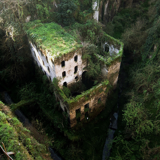 Abandoned Mill @ Sorrento, Italy