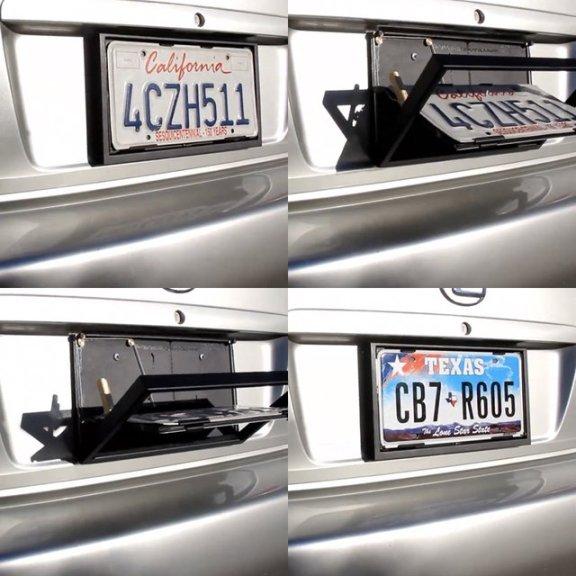 License Plate Flipper