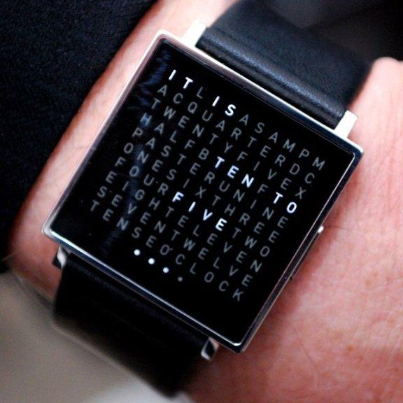 Qlocktwo Watch by Biegert & Funk