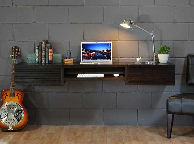wall mount desk woodworking plans