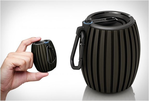 Soundshooter Wireless Portable Speaker by Philips