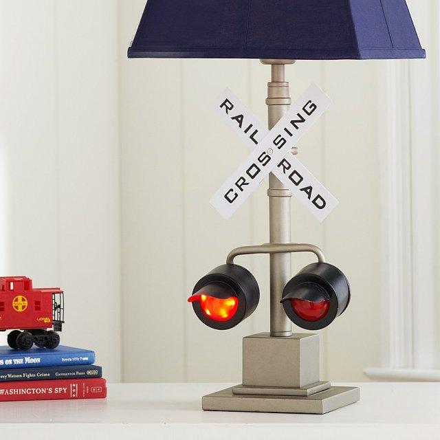 Railroad Crossing Lamp Base