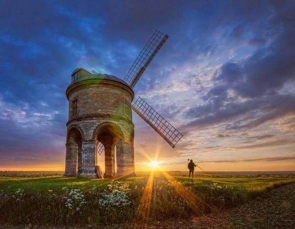 Photographers At Work - Mr Rivett & The Windmill