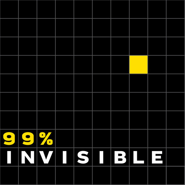 99 invisible 20 Beautiful Podcast Covers