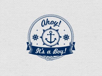 ahoy1 35 Anchor Based Logo Design Examples